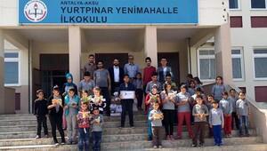 'Her okula bir kütüphane'