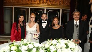Gazeteciler Cemiyeti'nde şık düğün