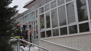 Konyadan cami girişinin çatısı çöktü: 4 yaralı