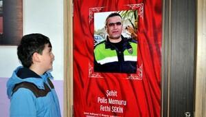Şehit Polis Fethi Sekinin adı, Kayseride bir sınıfa verildi
