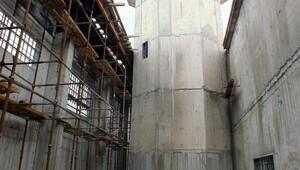 Yozgatta yapılan 3 bin 800 kişilik cezaevinin inşaatı sürüyor