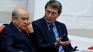 MHPli Yusuf Halaçoğlundan istifa açıklaması