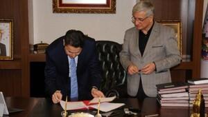 Kanal Tokat projesinin sözleşmesi imzalandı