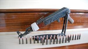 Gaziantepte polisten eve kaçak silah baskını