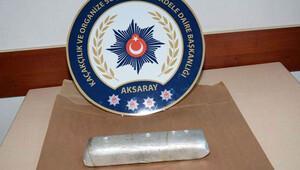 Türkiyede ele geçirildi... 2.5 kilo 3.5 milyon lira...