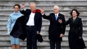 Trumplar Obama çiftini böyle uğurladı
