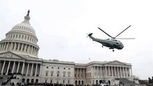 Obama çifti Kongre binasından böyle uğurlandı