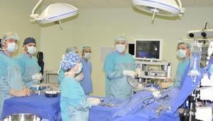 Kocaelinde kafatasını açmadan beyin ameliyatlarında rekor