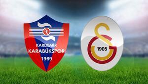 Karabükspor Galatasaray maçı saat kaçta hangi kanalda