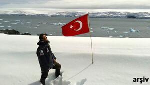 Antarktikada Türk Üssü için ilk ekip gitti
