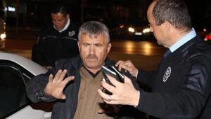 Alkollü sürücüden ceza yazan polise ilginç sözler