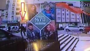 Saldırgan kaçtı, polis arkasından böyle ateş etti