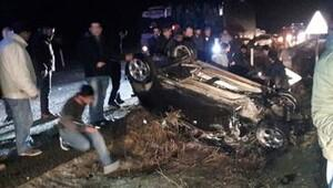 Genç avukat kaza kurbanı