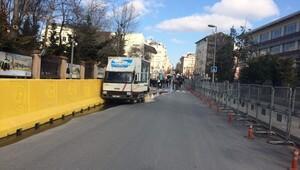 İstanbul Emniyet Müdürlüğü'nün önünde silah sesleri