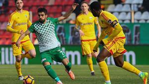 Akhisar Belediyespor 0-0 Kayserispor / MAÇIN ÖZETİ