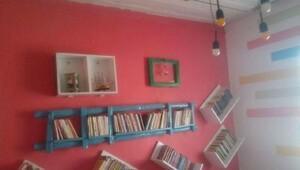 Şehit polis Sekinin adı kütüphaneye verildi