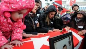 El Bab şehidi Bahattin Bakırın cenazesi Zonguldakta (2)