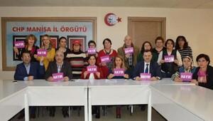 CHP Manisada anayasa için hayır kampanyası