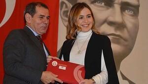 Beşiktaşlı Sinan Engin'in kızı Galatasaray'da
