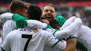 Konyada 3 gollü maçta kazanan ev sahibi