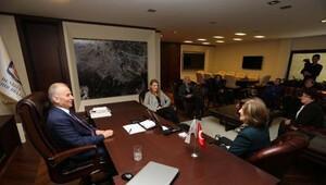 Kadın Hakları Derneğinden Başkan Zolana ziyaret