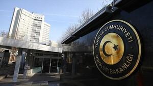 Dışişleri Bakanlığından rapor iddialarına sert tepki