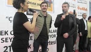 Çalgı Çengi İkimiz filminin Eskişehir galası