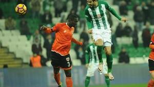 Bursaspor-Adanaspor maçı fotoğrafları