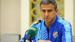 Bursaspor Hamza Hamzaoğlu ile yollarını ayırdı