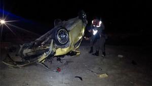 Kazada yapan çift, 5 saat sonra donmak üzereyken bulundu