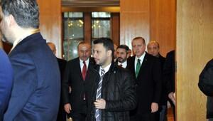 Fotoğraflar // Cumhurbaşkanı Erdoğan Doğu Afrika ziyareti öncesi Atatürk Havalimanıda açıklamalarda bulundu