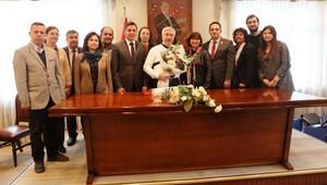 Bornova Kent Konseyinden iş birliği ziyaretleri