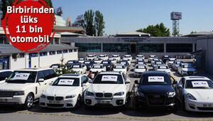 11 bin lüks otomobile devlet el koydu