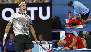 Andy Murray, Kerber elendi, Federer Nishikoriyi devirip çeyrek finale çıktı