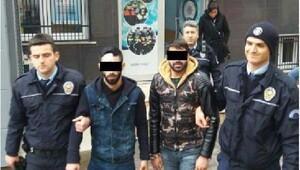 Plaka hırsızları tutuklandı
