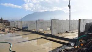 Manisa Atık Su Arıtma Tesisinde yarıya gelindi