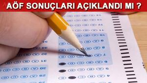 2017 AÖF final sınavı sonuçları ne zaman açıklanacak Anadolu Üniversitesi Rektörü açıkladı