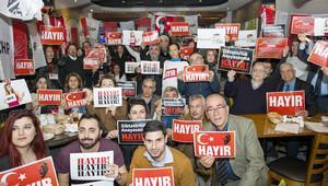 CHP İngiltere'den 'Hayır' kampanyası