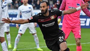 Leverkusen, Ömer ve Hakan'ın attığı gollerle 3-1 kazandı