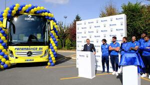 Fenerbahçe otobüsüne hız sınırı