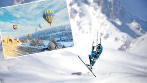 Önce balon sonra kayak