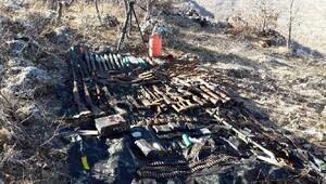 Hasankeyfte PKKnın silahları bulundu