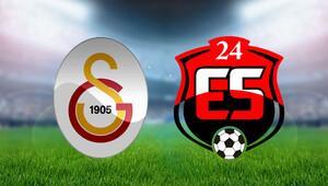 Galatasaray 24 Erzincanspor maçı bu akşam saat kaçta hangi kanalda canlı yayınlanacak - İki takımın ilk 11leri belli oldu