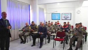 Osmancık'ta askeri personele trafik eğitimi
