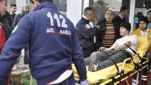 Seydişehirde baca kavgası: 2 yaralı