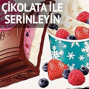 Çikolata ile serinleyin