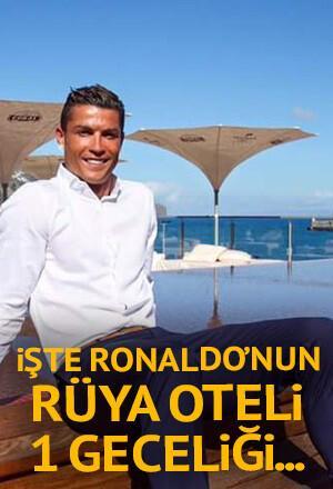 1 gecelik fiyatı dudak uçuklattı! Ronaldo'nun rüya oteli...
