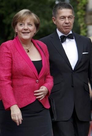 Merkel'in eşi Türkiye'de