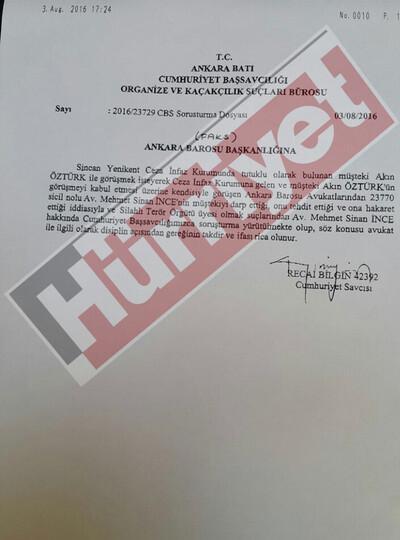 Akın Öztürk'e saldırdım diyen avukat şimdi yandı!