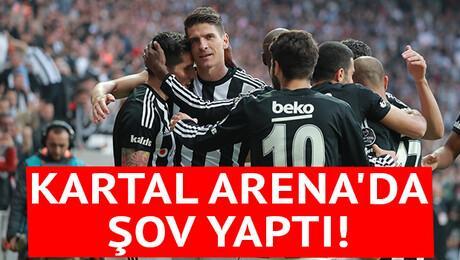 Beşiktaş Vodafone Arena'da şov yaptı